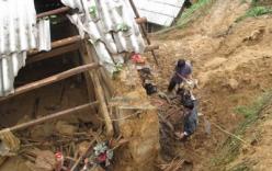 Lở đất ở Lạng Sơn trong đêm, 7 người chết