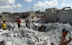 Hai ngày không kích, Syria hứng bom bằng cả tháng ở Iraq