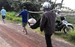 Giăng lưới ngang cầu tìm kiếm thi thể bé trai bị đuối nước