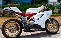Đại gia Vũng Tàu và chiếc Sportbike Ducati mạ vàng đầu tiên trên thế giới