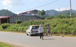 Lái xe chửi bới người dân sau khi gây tai nạn