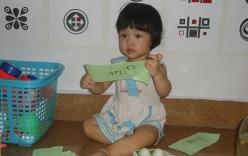 Cô bé 15 tháng tuổi ở Hải Phòng đọc tiếng Việt vanh vách
