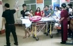 Vụ xe điên đâm thai phụ: Chuyển nạn nhân ra Hà Nội cấp cứu