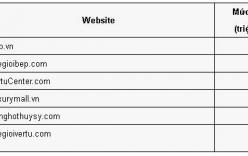 Danh sách 6 website thương mại điện tử bị phạt 110 triệu đồng