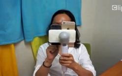 Kiểm tra khả năng quay phim  của iPhone 6 bằng... sex toy