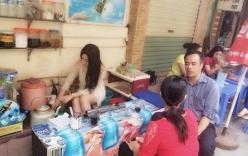Hot girl bán trà đá tại Hà Nội gây sốt cộng đồng mạng