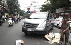 Đi qua đường, một phụ nữ bị xe cán tử vong