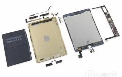 Phẫu thuật iPad Air 2: Cực kỳ khó sửa, pin nhỏ hơn