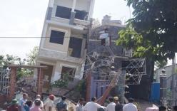 Vừa xây xong, ngôi nhà 4 tầng bỗng dưng đổ trong đêm