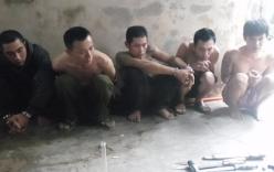 Nhóm thanh niên trộm chó bị bắt khi đang hút ma túy