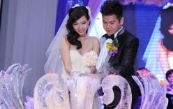 Ái nữ, thiếu gia con nhà giàu Việt xúng xính váy cưới sang trọng