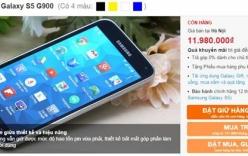 Galaxy S5 tiếp tục giảm thêm 1 triệu