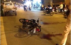 Cô gái nguy kịch sau vụ đâm xe trên đường Cầu Giấy