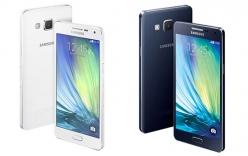 Samsung ra mắt Galaxy A3 và A5 với thiết kế kim loại