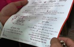 Viện trưởng VKS huyện tổ chức đám cưới cho con tại cơ quan