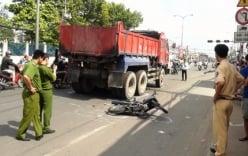 Tai nạn nghiêm trọng, thai phụ bị xe ben cán qua người