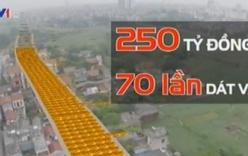 """Đường """"dát vàng"""" 70 lần tại Hà Nội: Ông Nguyễn Thế Thảo yêu cầu làm rõ"""