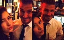 Ái nữ tập đoàn Alphanam ăn tối cùng David Beckham