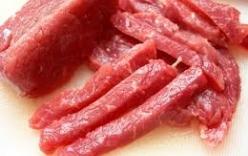 Cách chọn thịt lợn, thịt bò tươi ngon
