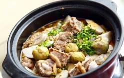 Bí quyết nấu món vịt om khoai sọ cực ngon