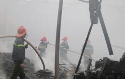Hà Nội: Cháy lớn trong khuôn viên Trung tâm khí tượng thủy văn