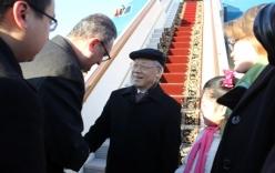 Tổng Bí thư bắt đầu thăm chính thức Liên bang Nga
