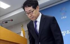 Đề thi đại học sai, quan chức Bộ Giáo dục Hàn Quốc phải từ chức