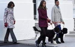 """Gia đình Tổng thống Obama cũng """"hăm hở"""" sắm Noel 2014"""