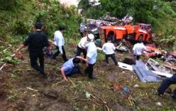 Khởi tố tài xế vụ xe khách lao xuống vực làm 14 người tử vong