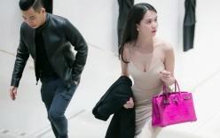 Ngọc Trinh, Vũ Khắc Tiệp chơi trội mua sắm tại shop của Victoria Beckham