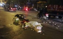 Hà Nội: Va chạm với xe tải, 2 người tử vong tại chỗ