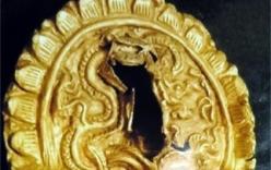 Phát hiện miếng vàng cổ hình rồng ở Hoàng thành