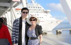 Vũ Hoàng Việt được người tình tỷ phú tổ chức sinh nhật trên du thuyền
