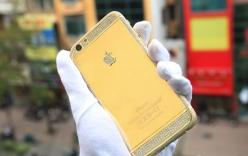iPhone 6 vỏ vàng nguyên khối, đính kim cương giá nửa tỷ đồng ở Việt Nam