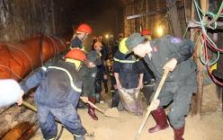 Sập hầm thủy điện 12 người mắc kẹt: Phó Thủ tướng vào hiện trường nói chuyện với 12 nạn nhân