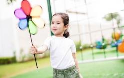 Con gái Lưu Hương Giang - Hồ Hoài Anh xinh như thiên thần