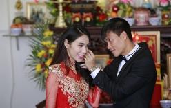 Cô dâu Thủy Tiên xinh đẹp rạng ngời trong lễ cưới quê nhà