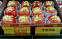 """Dân Trung Quốc chuộng táo """"sang chảnh"""" khắc hình 12 con giáp"""