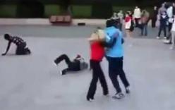 Cao thủ KungFu hạ gục 5 anh to cao để cứu bạn gái