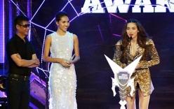 Hồ Ngọc Hà thắng Mỹ Tâm tại giải nghệ sĩ của năm