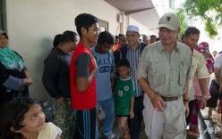 Thị sát vùng lũ lụt, Thủ tướng Malaysia bị nhiễm khuẩn E.coli