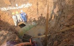 Vỡ ống nước Sông Đà: Tối nay nước được cấp trở lại