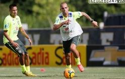 Tiền đạo ĐT Brazil chuẩn bị đấu B.Bình Dương