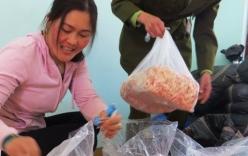 Thu giữ 340kg mực khô được làm giả từ sắn