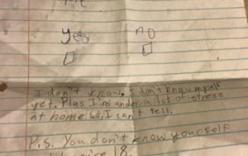 Lời từ chối tình yêu của cậu bé 11 tuổi gây sốt