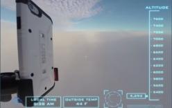 Chiếc iPhone 6 của bạn sẽ ra sao nếu rơi từ độ cao 31km?