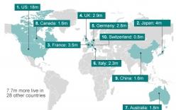 1% người giàu có nhất thế giới đang sống ở đâu?