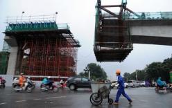Tai nạn ngày đầu tái khởi động dự án đường sắt trên cao
