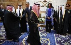 Bà Obama khiến Ả Rập Saudi phẫn nộ vì không đội khăn trùm đầu