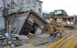 Trung Quốc: Quan chức đào hầm trong nhà khiến cả tòa chung cư sập